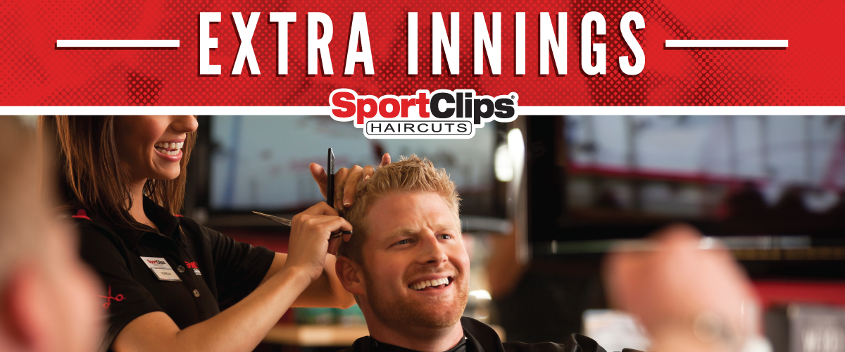 The Sport Clips Haircuts of Viewmont Extra Innings Offerings